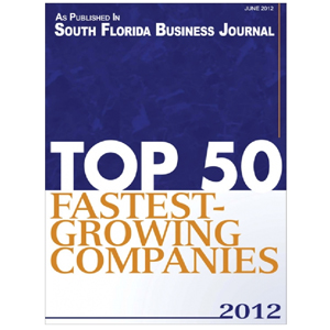Top 50 Fastest-Growing Companies 2012
