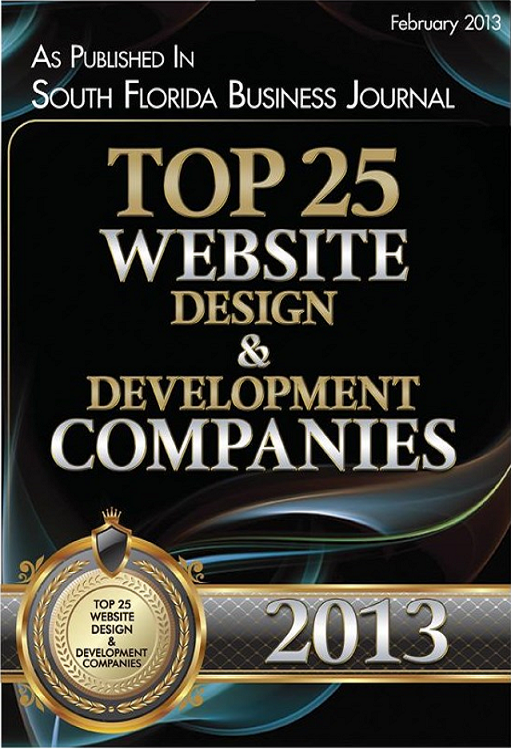 Top 25 Website and Development Companies 2013