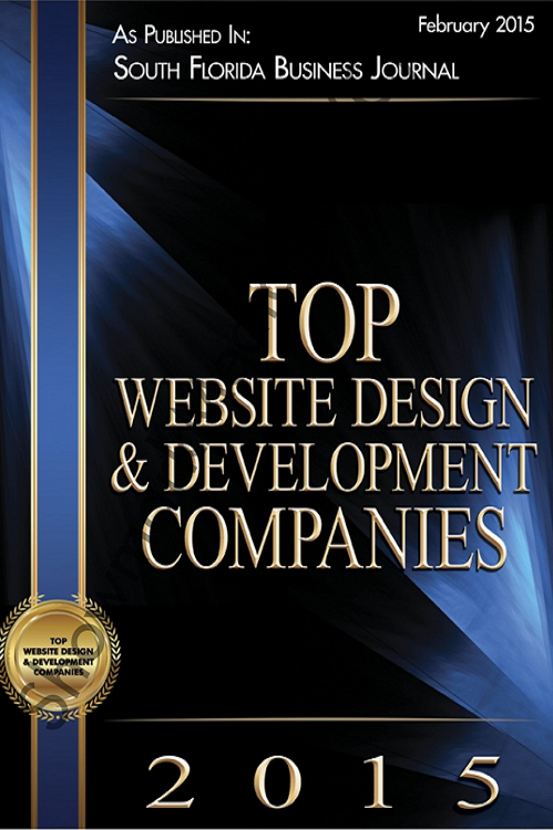 South Florida Business Journal Top 25 Website and Development Companies 2015